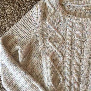 Confetti cake sweater?!